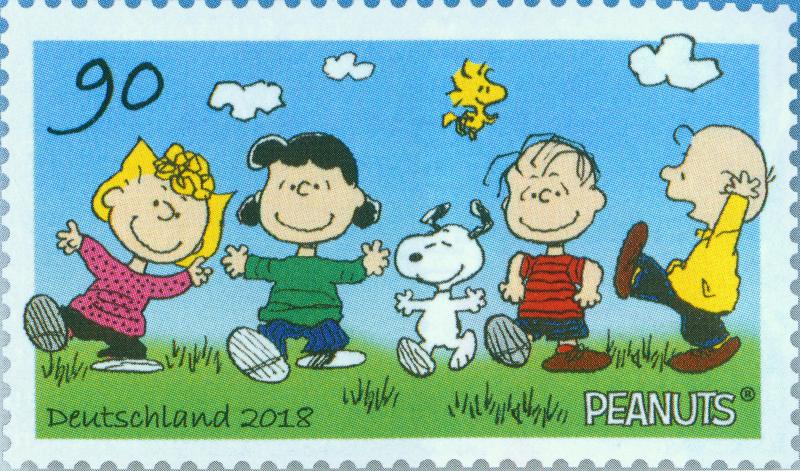 bundespost briefmarken 2018